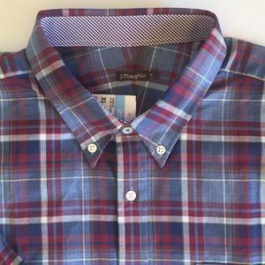J. McLaughlin Long Sleeve Button Down Shirt New XL